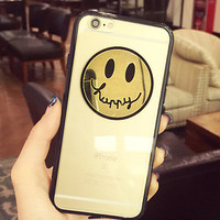 Grimace face case cover for iPhone 5s 6 6s plus gift 258