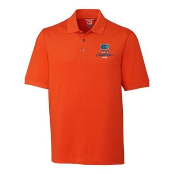 NCAA Florida Gators 2017 Men's Baseball College World Series National Champions Orange Polo