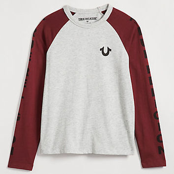 LOGO TODDLER/LITTLE KIDS RAGLAN TEE