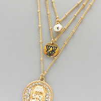 Serene Buddha Necklace