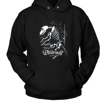 DCCK7H3 White Wolf Potion (2) Hoodie Two Sided
