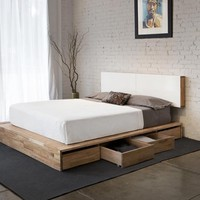MASH Studios - Storage Platform Queen Bed