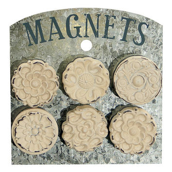 VIP Floral Magnet - Set of Six | zulily
