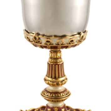 Imperial Kiddush Cup & Plate by Quest, Cups Size: 6.25 H