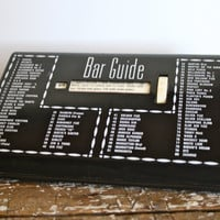 Bar Recipes Bar Guide Drink Guide How to by VintageShoppingSpree