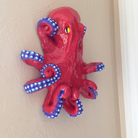 Made to order Octopus wall decoration