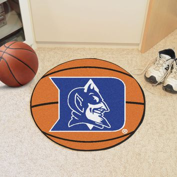 "Duke Basketball Mat 27"" diameter"
