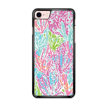 Lilly Pulitzer Turquoise iPhone 7 Case