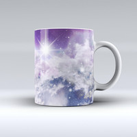 The Sparkly Space ink-Fuzed Ceramic Coffee Mug
