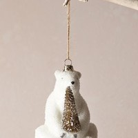 Polar Bear Ornament by Anthropologie White One