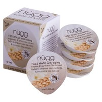 nügg Anti-Aging Face Mask - Vitamin B3 & White Tea Extract (5 Count)