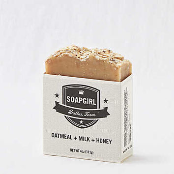 Soap Girl Bar Soap, Oatmeal Milk Honey
