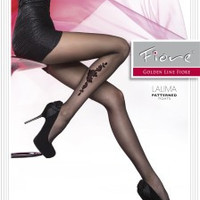 Lalima Patterned Tights 20 den Fiore Hosiery