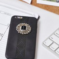 Free People Concho Embellished iPhone Case