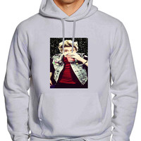i love Niall Horan one direction black glitter For Man Hoodie and Woman Hoodie S / M / L / XL / 2XL *02*