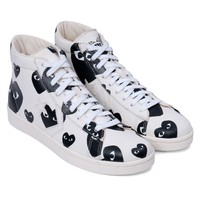 Play Converse Pro Leather High (White / Black)