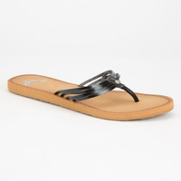 Roxy Riviera Womens Sandals Black  In Sizes