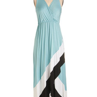 ModCloth Long Sleeveless High-Low Hem Type Bay Personality Dress