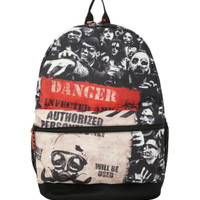 Zombie Infected Area Backpack