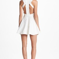 Keepsake the Label 'Lady Doll' Jacquard Fit & Flare Dress | Nordstrom