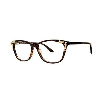 Dana Buchman - Queen Anne 52mm Tortoise Eyeglasses / Demo Lenses