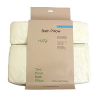 """Mato Luxury Soft Extra Large Spa Bath Pillow for Bathtub, Hot Tub, Jacuzzi with Heavy Duty Suction Cup 16"""" x 12.5"""""""