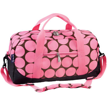 Big Dot Pink Duffel Bag - 25085