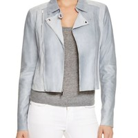Paige Denim Silvie Leather & Suede Moto Jacket | Bloomingdales's