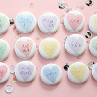 Sour Heart Button Pick Your Poison
