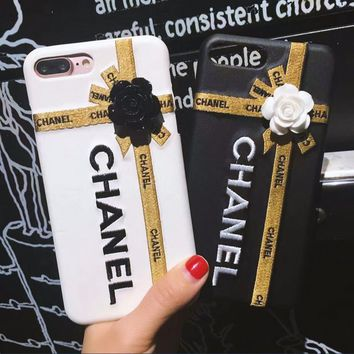 Day-First™ CHANEL iPhone Phone Cover Case For iphone 6 6s 6plus 6s-plus 7 7plus + best gift