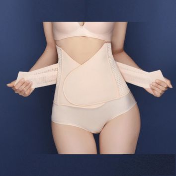 Women Slimming Burn Fat Tummy Slim Shapewear Bodysuit Abdomen Belt BG
