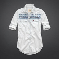 Brooks Beach Denim Shirt