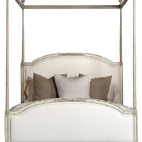 Dauphine Upholstered Canopy Bed - traditional - bedroom products - by Kathy Kuo Home