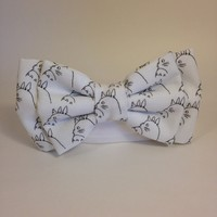 Totoro Studio Ghibli Custom Fabric Men's Bow Tie