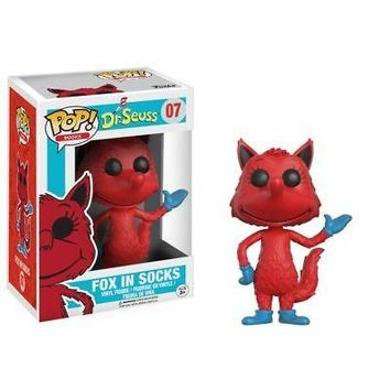 POP Dr. Seuss Fox in Socks, Animated Movies by Funko
