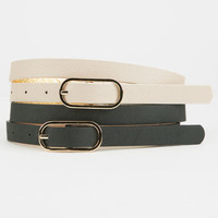 Reversible Belts 2 Pack