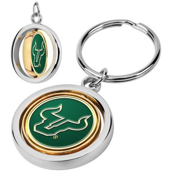 South Florida Bulls Spinner Key Chain