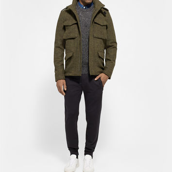 Aspesi - Thermore-Insulated Harris Tweed Field Jacket | MR PORTER
