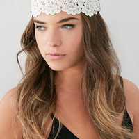 Scalloped Crochet Headwrap