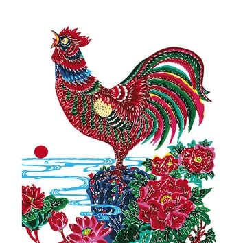 Oil Painting DIY Painting By Numbers Home chicken Decoration DIY Digital Canvas