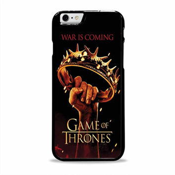 game of thrones war is coming movies Iphone 6 plus Cases
