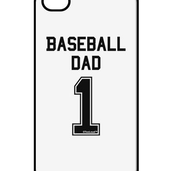 Baseball Dad Jersey iPhone 4 / 4S Case  by TooLoud