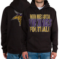 Minnesota Vikings Backfield Pullover Hoodie – Black