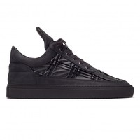 All Models : Low Top Burb Leather Black | Filling Pieces