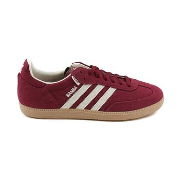 Mens adidas Samba Hemp Athletic Shoe, Burgundy Cream | Journeys Shoes