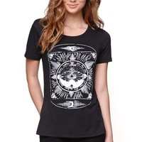 Billabong Where Gypsies Roam T-Shirt - Womens Tee - Black