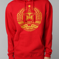 Urban Outfitters - OBEY Star Crest Pullover Hoodie Sweatshirt