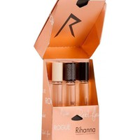 Rihanna for Women (Reb'l Fleur, Nude, Rouge) Rollerball 0.2 oz Set