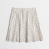Factory printed silky skirt