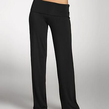 Calvin Klein Essentials Modal Yoga Pants Sleepwear S1277 Set at BareNecessities.com